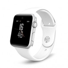 ETTG SW25 Bluetooth SmartWatch Support SIM Card Smartphone Fitness Tracker for IOS Android - White