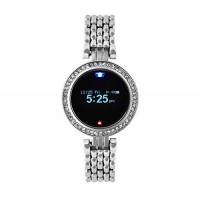 Egobasic TW4F3 Smart Watch Notifier Watch Womens Luxury Wristwatch Bluetoot