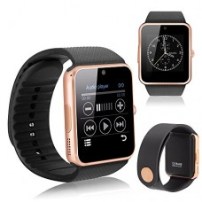 YEMON Smart Watches Bluetooth with Camera Compatible with Iphone Android Th